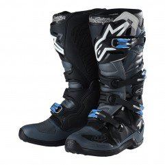 TLD ALPINESTARS BOOTS TECH 7 BLACK / GRAY SIZE 11