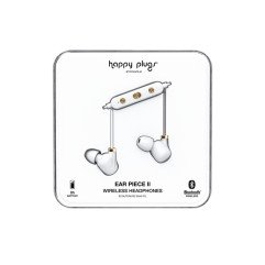 Happy Plugs - Ear Piece II - White Gold
