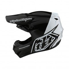 GP HELMET BLOCK BLACK / WHITE