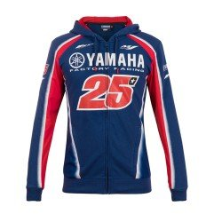 FULL ZIP HOODIE DUAL YAMAHA VINALES blue royal yamaha Woman