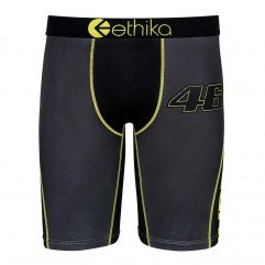 UNDERWEAR ETHIKA VR FORTY SIX GRAY/YELLOW