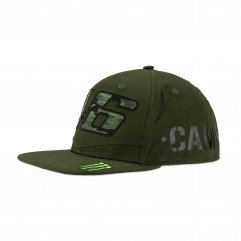ADJ CAP VR46 MONSTER DUAL CAMP green Man