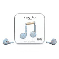 Happy Plugs Earbud Plus - Blue Quartz